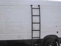 Aluminess Sprinter 03-06 Driver Side Ladder